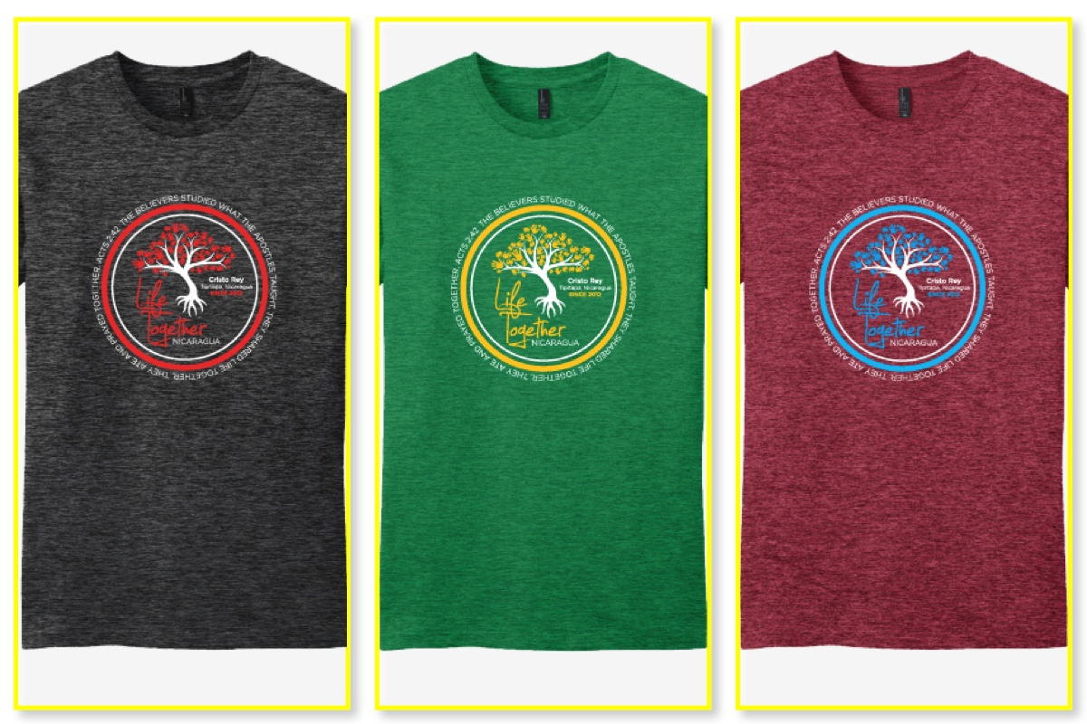 T-Shirt Fundraiser for the Education Center